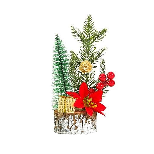 BESPORTBLE - Pequeños Adornos navideños para árbol de Navidad ...