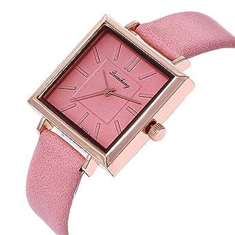 01014705e8 OVER RAG 大人可愛いお求め安い スクエアカラーレディースウォッチ 腕時計 時計 ブレスレット カジュアル時計