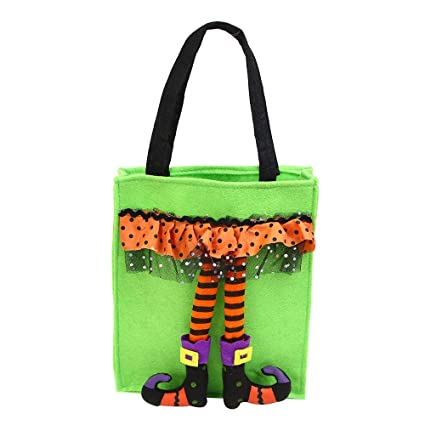 Amazon.com: Leoy88 Halloween Cute Witches Candy Bag ...