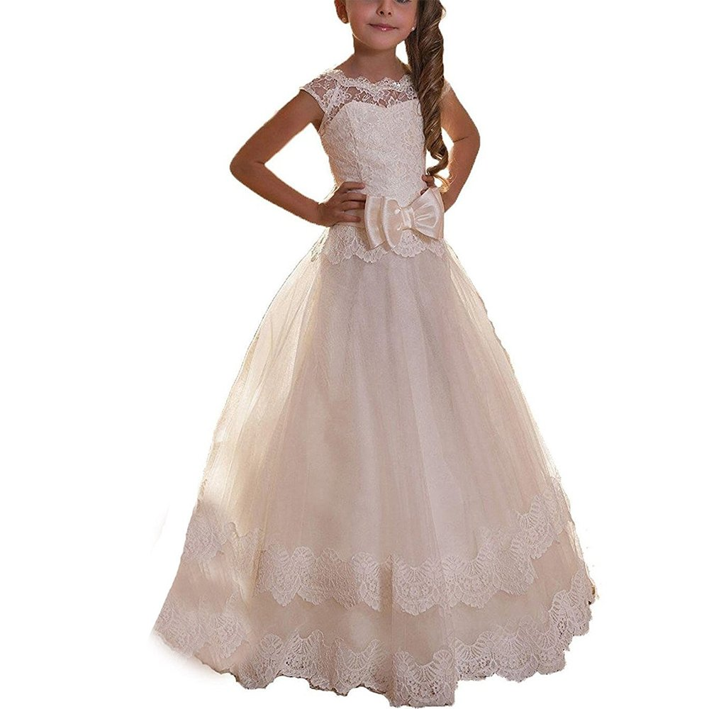 Puffy Ball Gown with Applique: Amazon.com