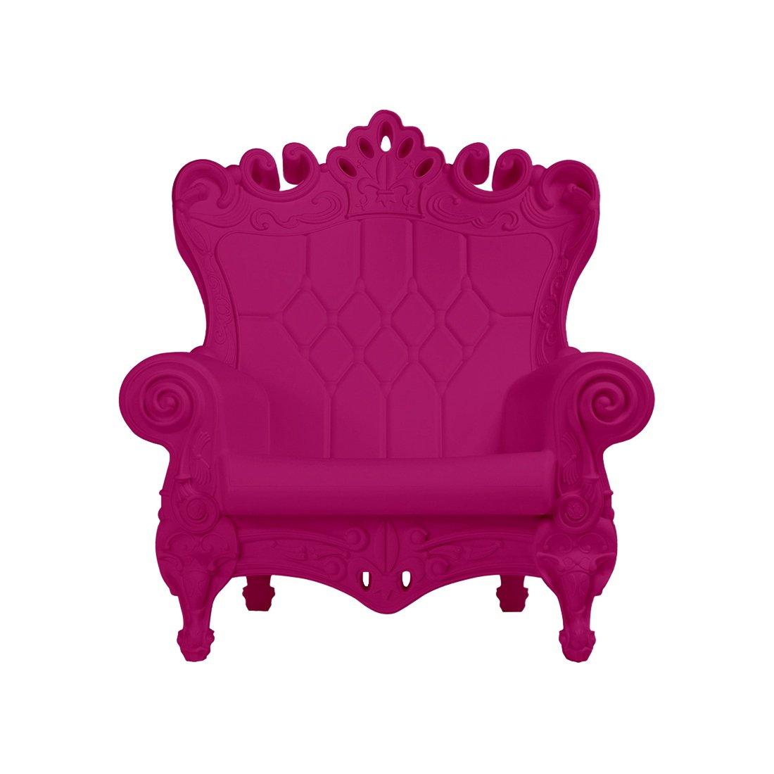 Design of Love - Slide Design - Little Queen of Love Baby armchair Sweet Fuchsia (Original made in Italy)