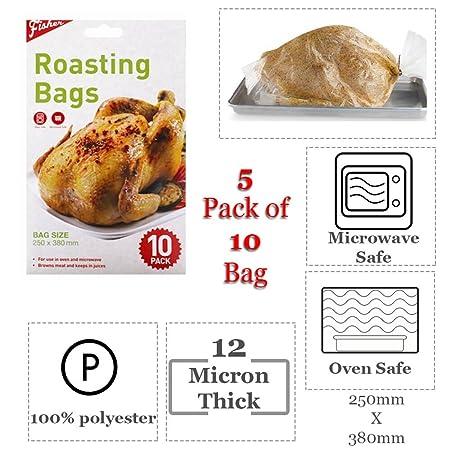 Bolsas para asar tamaño horno y seguro para usar en microondas ...