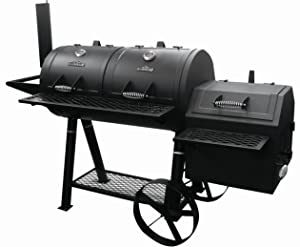 RiverGrille SC2162901-RG Rancher's Grill, Black - best offset smoker