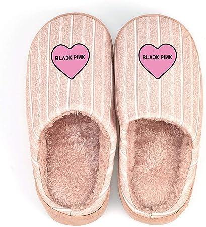 Zapatillas de casa Zapatillas de algodón de Corea Inicio Calzado de Interior y al Aire Libre Zapatos Calientes del ...