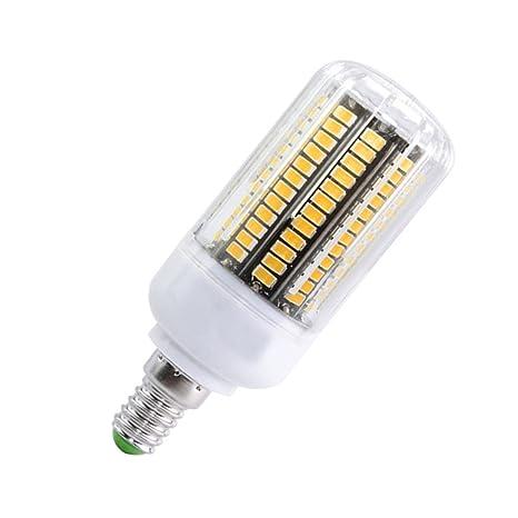 Phigoning 5X E14 Bombilla LED 10W 136 SMD 5733 LED Lampara Luz AC220V-240V LED