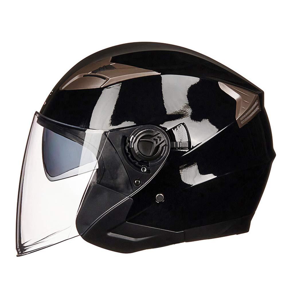 Qianliuk MotorradHelme Männer-Elektrofahrzeuge Doppel-Objektiv Sicherheit Vollhelme FahrradHelm Männer Motocross-Helm