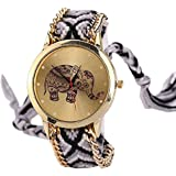 Swadesi Stuff New Arrival Cute Elephant Multicolour Stylish Analog Watch For Girls & Women