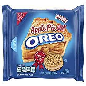 Oreo Limited Edition Apple Pie Sandwich Cookies, 10.7 oz