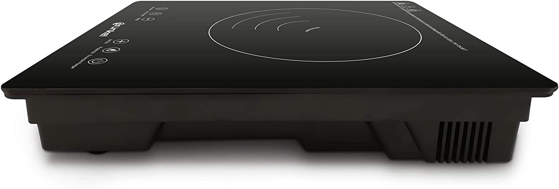 Grunkel - PIN-2000 - Placa de inducción portátil con Controles táctiles y 8 Niveles de Potencia. Autoapagado de Seguridad y Bloqueo Infantil - 2000 W ...