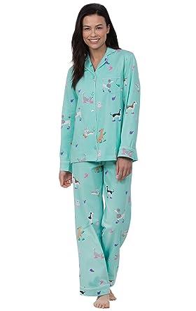 4e3f70a8e4 PajamaGram Button Up Pajamas for Women - Women's PJs Sets at Amazon ...