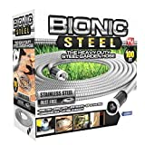 Bionic Steel 304 Stainless Steel Garden Hose - Lightweight, Kink-Free, and Stronger Than Ever, Durable and Easy to Use