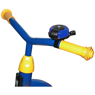 Kettler Bike Handlebar Bell Accessory, High Pitch Alert Bell for Kids Tricycles, Blue : Childrens Ride On Accessories : Sports & Outdoors [5Bkhe1905883]