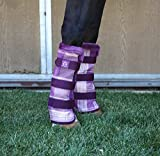 Kensington Fly Boots Medium Lavender Mint Plaid
