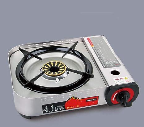 CY&Y Estufa de Gas, Quemador portátil de Estufa de butano, Sistema de Encendido automático