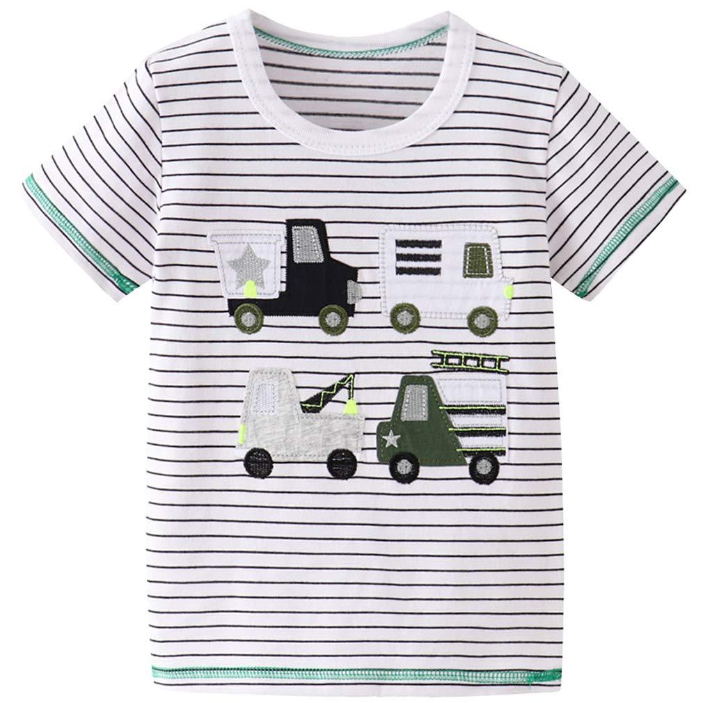 Little Boys Shorts Set Toddler Boys 100% Cotton Summer Short Sleeve  T-Shirts and Shorts Clothing Sets 2PCS Short Sets