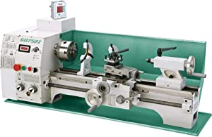 """Grizzly Industrial G0752Z - 10"""" x 22"""" VS Benchtop Lathe with 2-Axis DRO"""