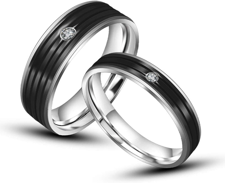 ROMQUEEN Joyas Anillo Bisuteria Anillos de Compromiso de Plata Anillo Oro con Diamante ,