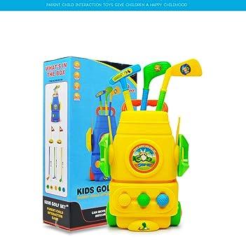 SOWOFA Juego de Juguetes de Golf para Interiores y Exteriores, Juego de Tacos de plástico para niños, para Deportes al Aire Libre y Deportes: Amazon.es: ...
