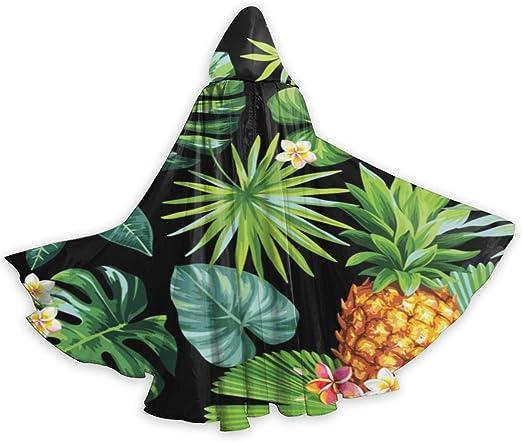 UKBUY Capa de piña Tropical con Capucha para Adulto, Disfraz de ...