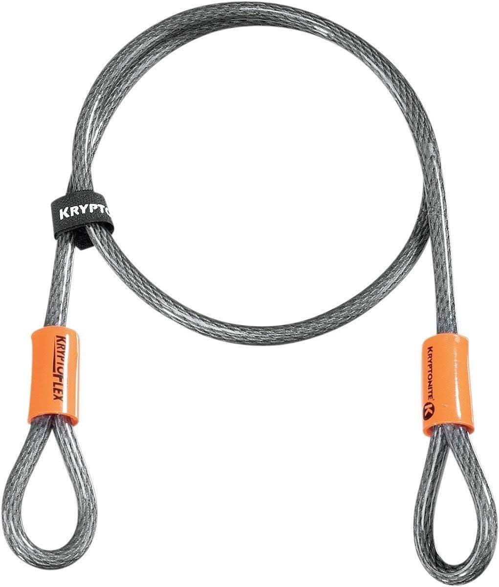 Kryptonite 410 Kryptoflex Looped Cable