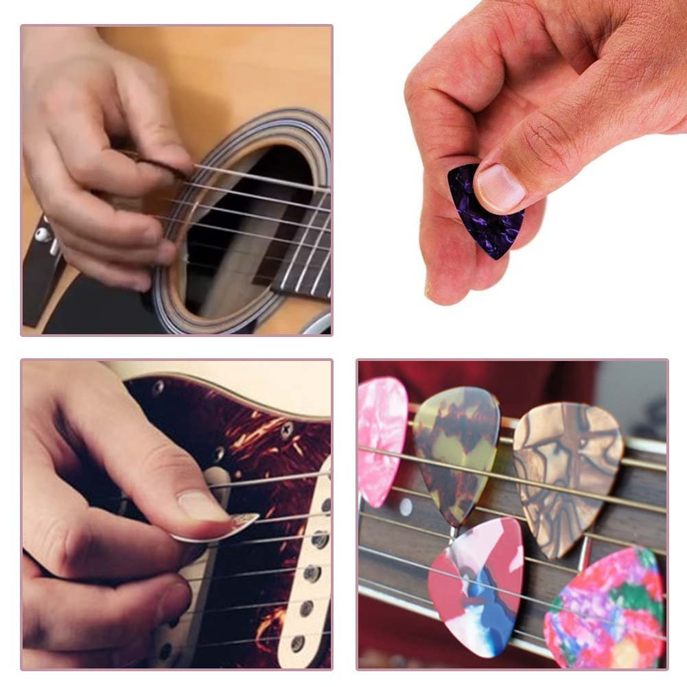 Amazon.com: Be A Penguin Guitar Picks For Electric Guitar - 12 Pack CUILL Plectrums Includes Thin, Medium & Heavy Gauges: Cell Phones & Accessories