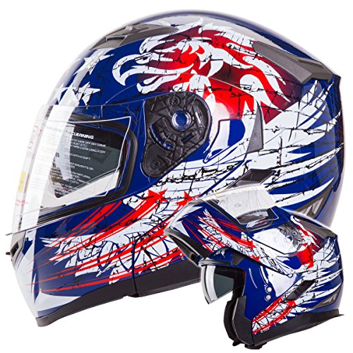xl modular snowmobile helmet - 5