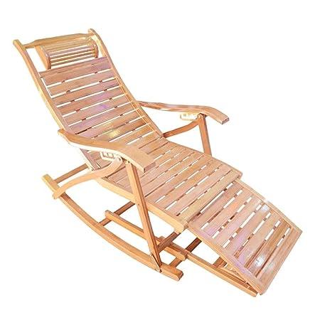 Sdraio In Legno Per Esterno.Sedie A Sdraio Sedia A Dondolo Sun Lounger Con Design Poggiapiedi