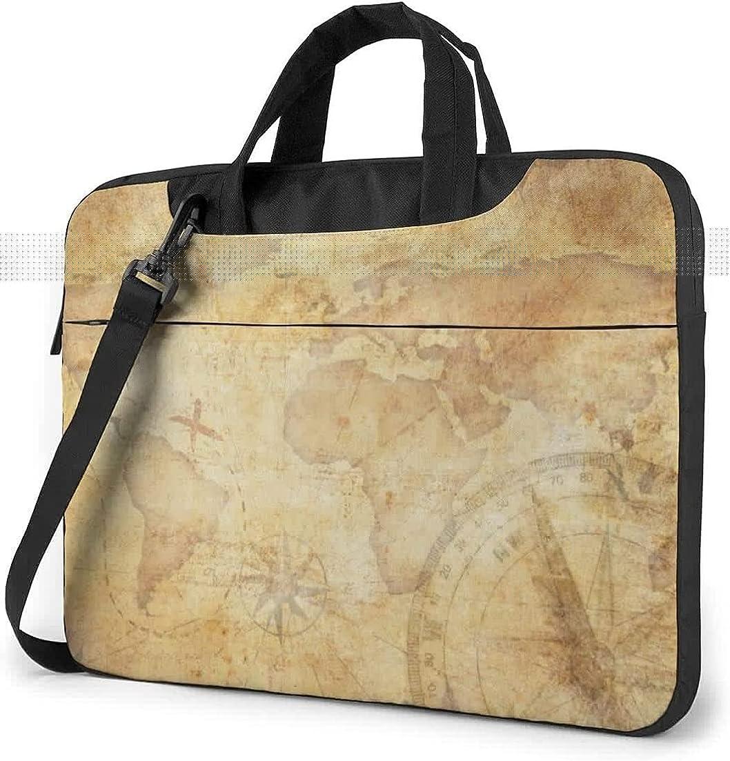 Blue Narwhals Briefcase Protective Bag Laptop Shoulder Bag 15.6 Inch