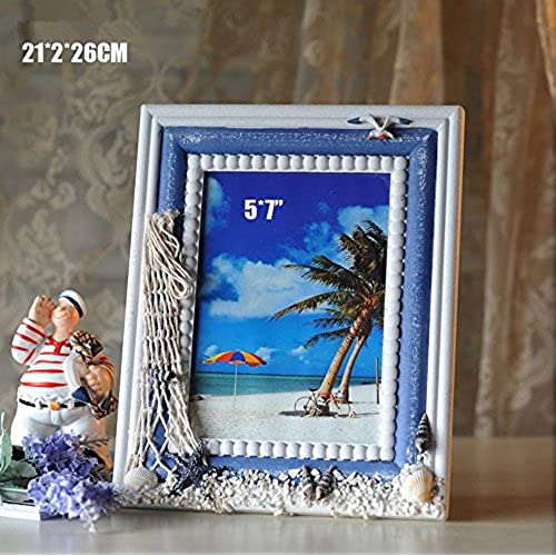 graces dawn vintage photo frame ornaments creative 5x7mediterranean style home accessories ocean series 5x7 - Nautical Frames