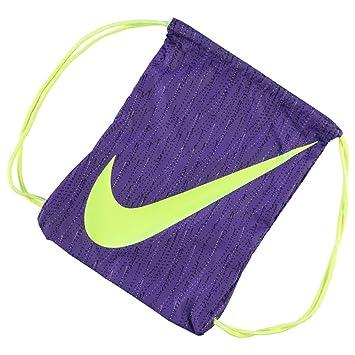 1bb54e5407df Mens Ladies Kids Unisex Genuine Nike Graphic Gym Sack Pack Bag Accessories  (Purple1