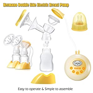 Hermano Electric Double Breast Pump