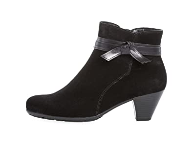 e4176f898 Amazon.com | Gabor Tiffey Womens Modern Suede Zip Ankle Boots | Ankle &  Bootie