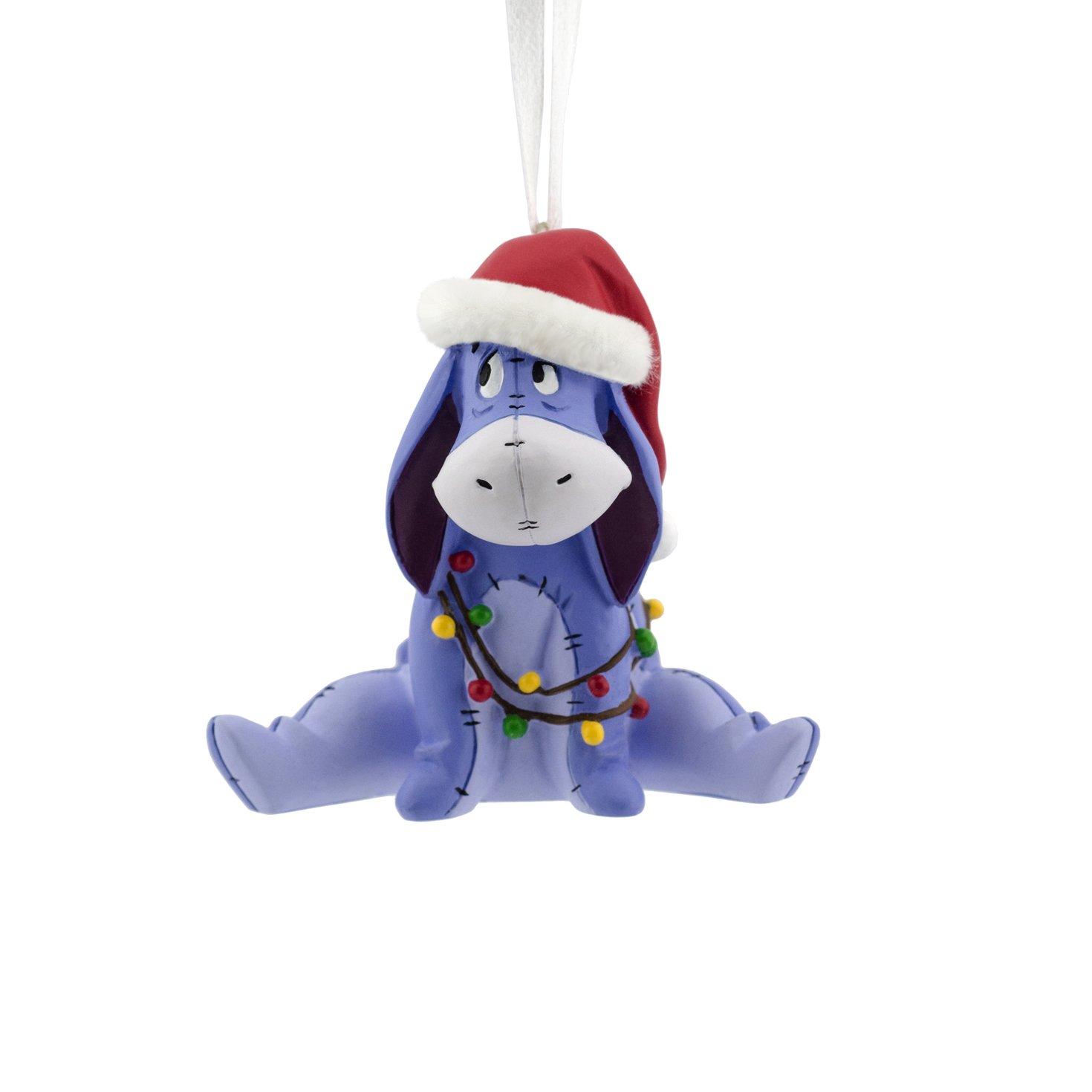 Hallmark Disney Winnie the Pooh  Eeyore Holiday Ornament