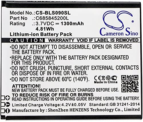 Battery Replacement for BLU S090Q Studio C HD Record