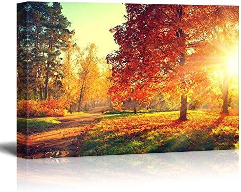Autumn Scene Fall Wall Decor