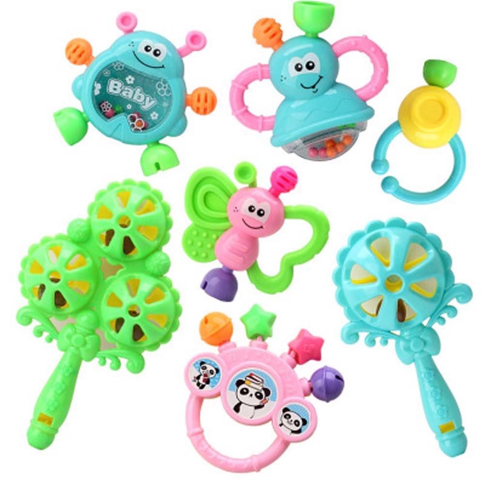 Baby Toys 3 – 6-12ヶ月Baby Rattles教育玩具0 – 1年古いランダム色   B01EFLXBO6