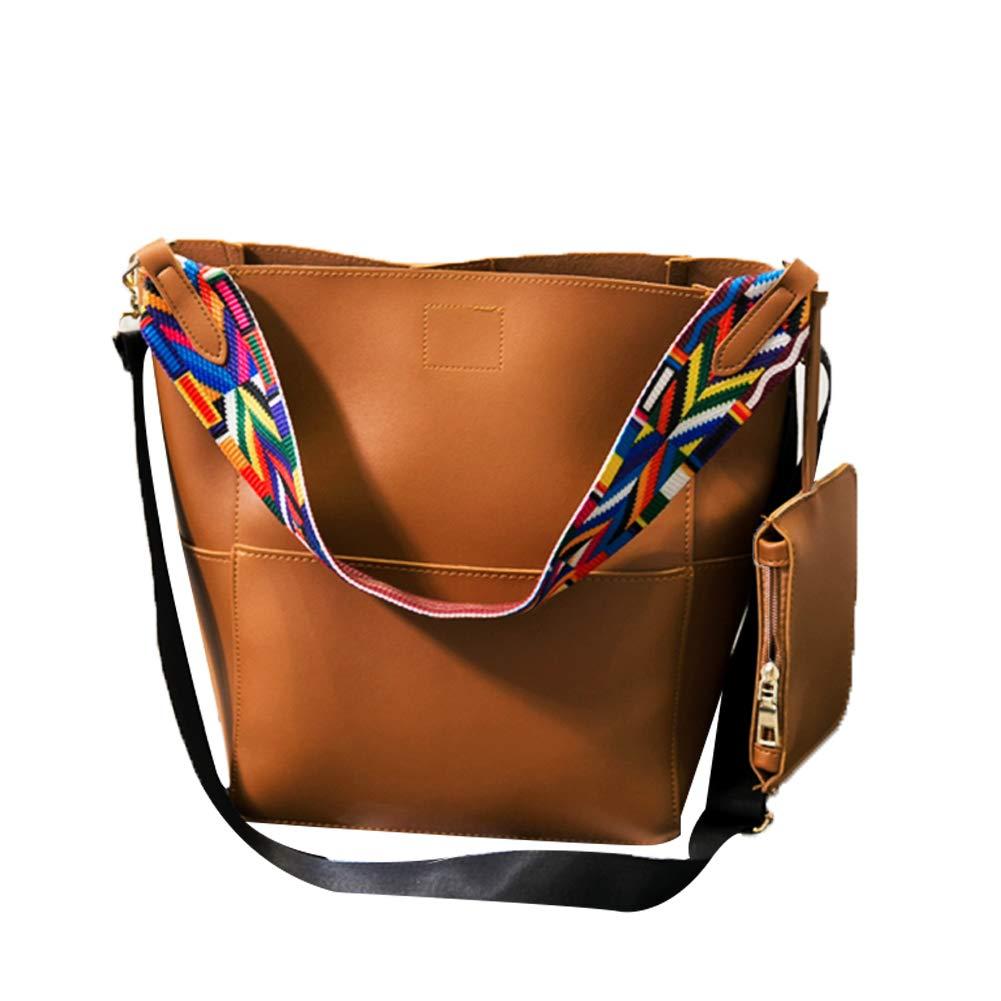 Fashion Buckets Tote Handbag, S.Charma Bag Women Shoulder Bags, Girls Crossbody Messenger Satchel Bag