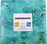 Benartex DREAMSCAPE 10-inch Precut Squares Cotton Fabric Quilting Assortment Layer Cake
