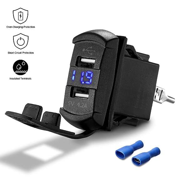 Amazon.com: ISSYZONE - Cargador USB dual universal con toma ...