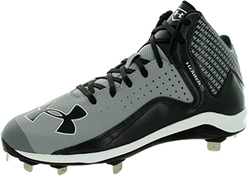 Under Armour Mens Yard Low St Baseball Shoe