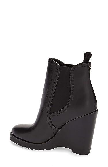 8b214963219 Michael Kors Womens Thea Wedge Leather Almond Toe