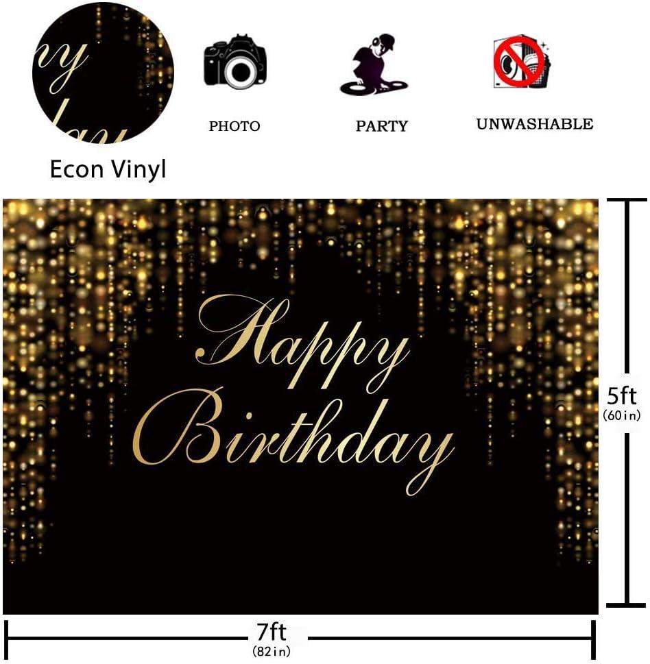 Allenjoy Happy Birthday Party Hintergrund Schwarz Und Kamera