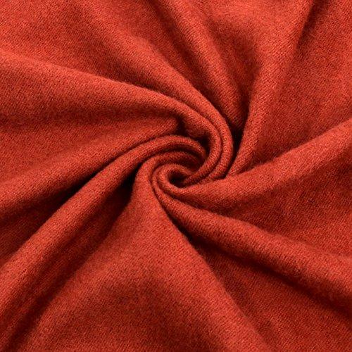 Women Soft Pashmina Scarf Stylish Warm Blanket Scarves Solid Winter Shawl by Arctic Penguin (Image #1)