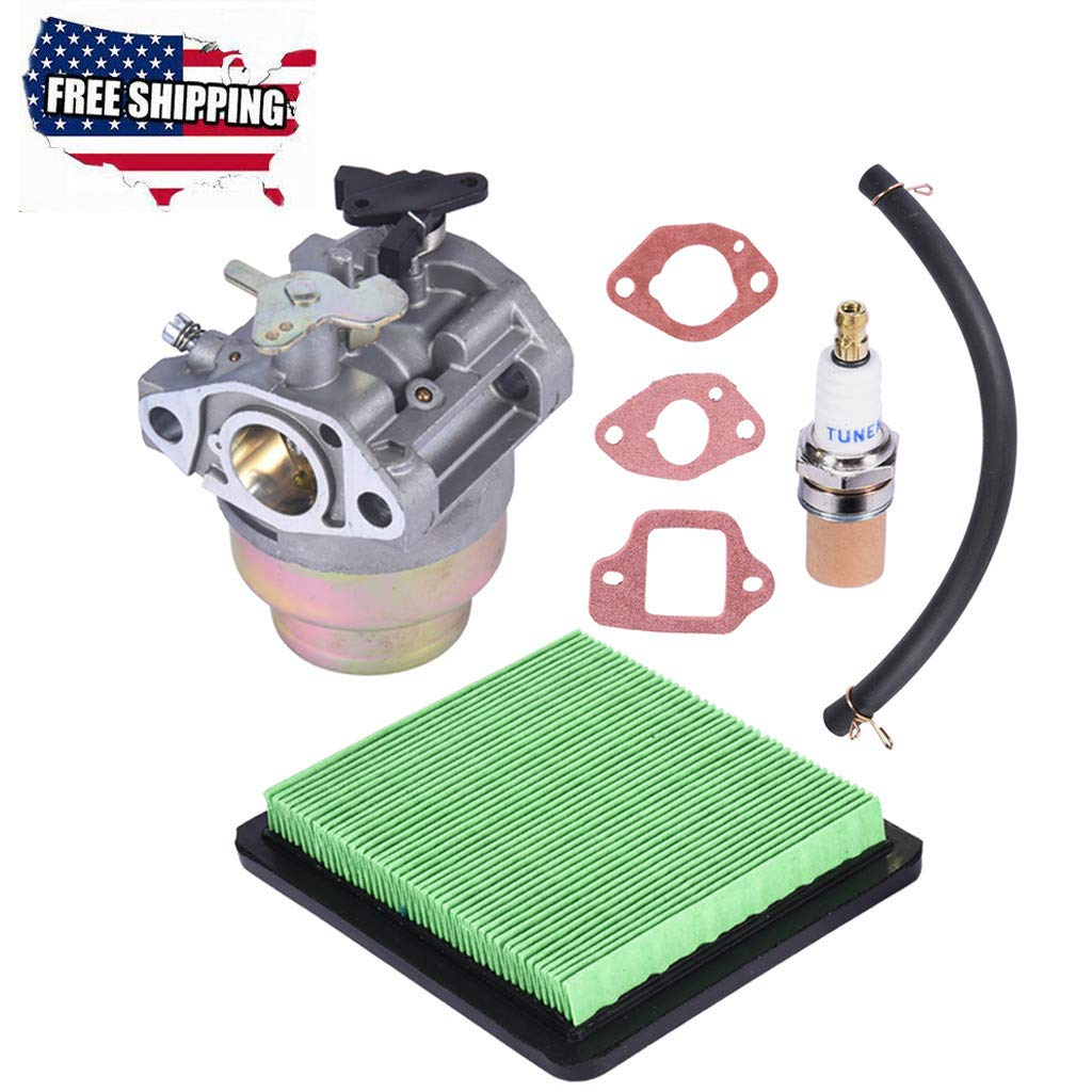 Arrowsy Carburetor for Honda GCV135 GCV160 GC135 GC160+Gasket +Air Filter+Fuel Line+Carb by Arrowsy