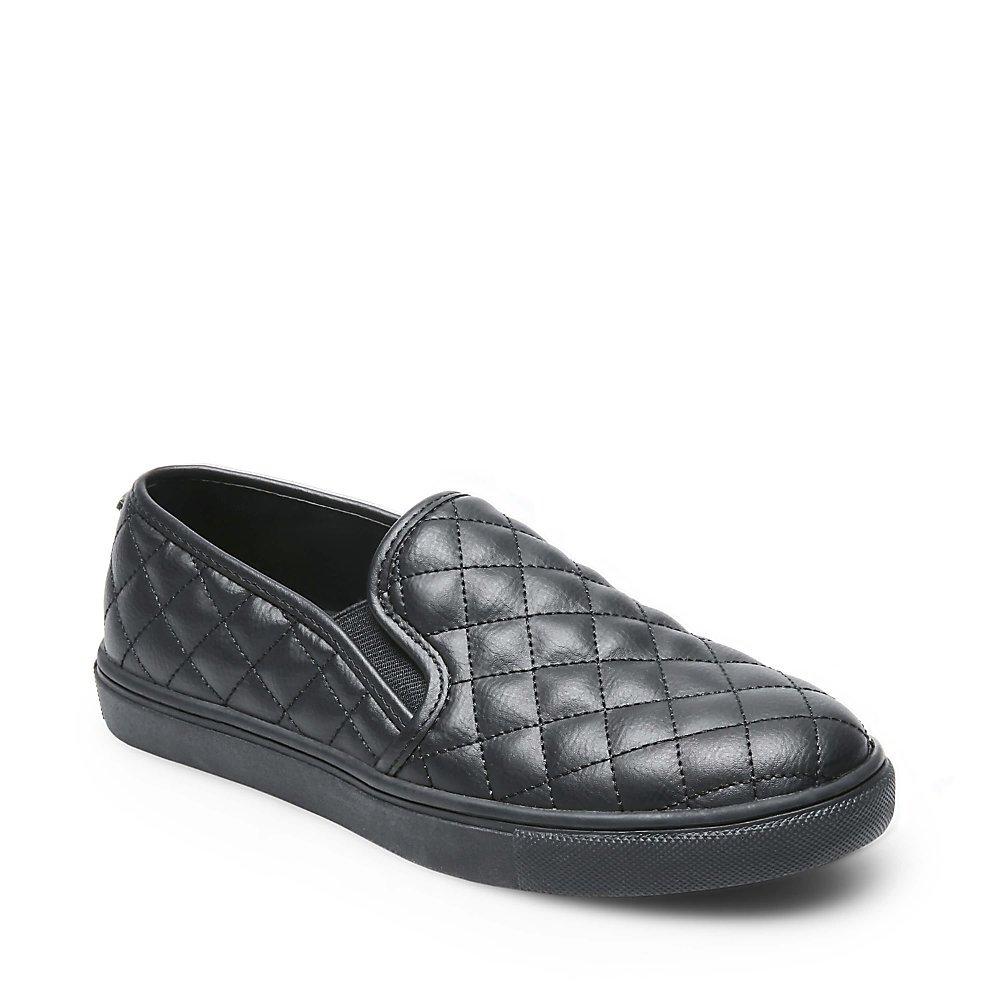 Steve Madden Women's Ecentrcq Sneaker B07CN7TSZS 8 B(M) US|Black Black