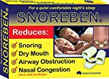 (US) SNOREBEN - Sleep and Snoring Aids Stop Snoring Nasal Device and Nasal PLug (Medium Size)