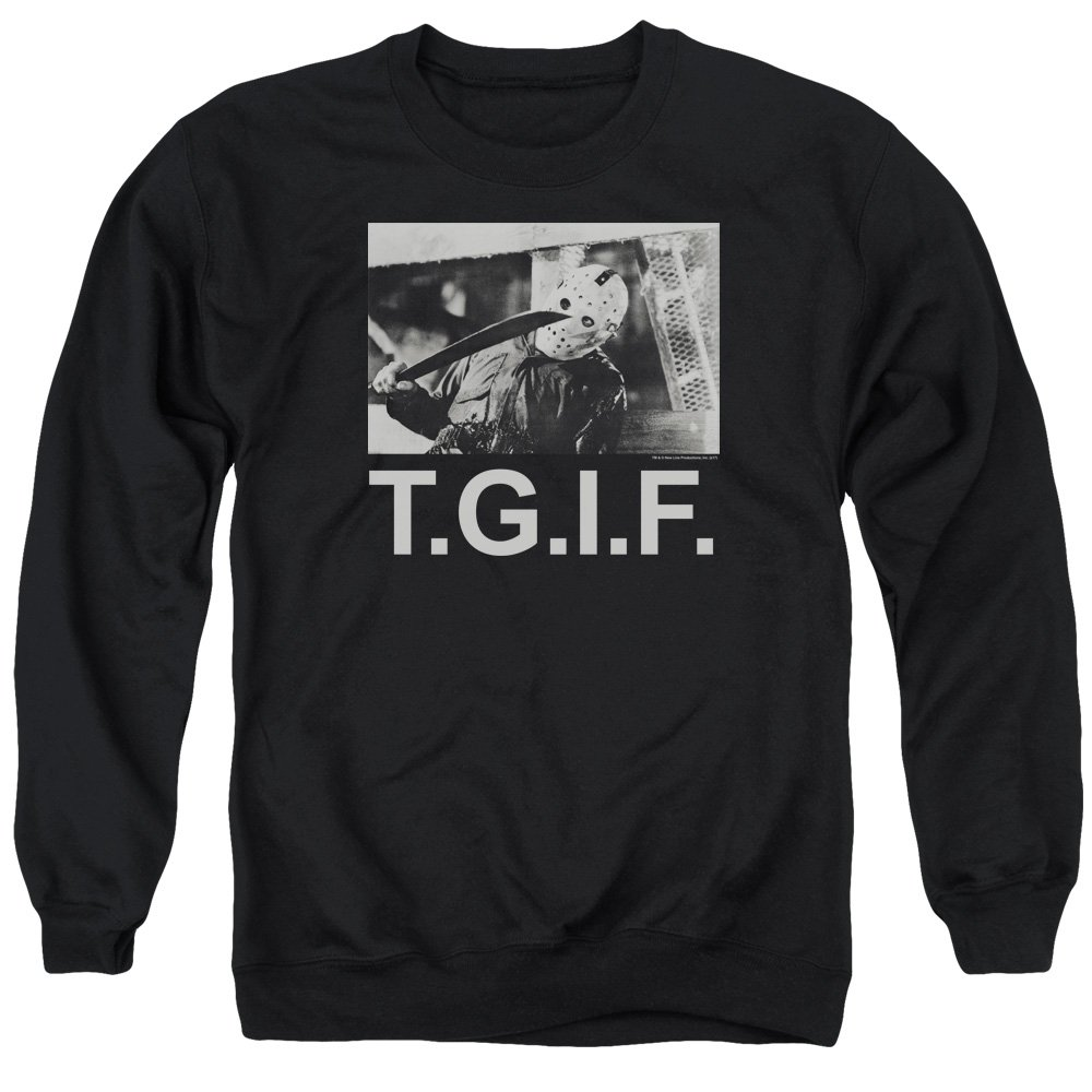 Friday the 13th - Vendredi 13 Mars - Pull TGIF pour Hommes