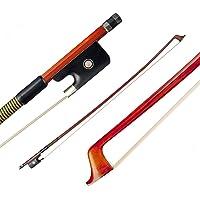 Honeytecs NAOMI VB0908-029 Brazilwood clássico 4/4 Arco de violino Peso leve Equilíbrio adequado Crina de cavalo da…