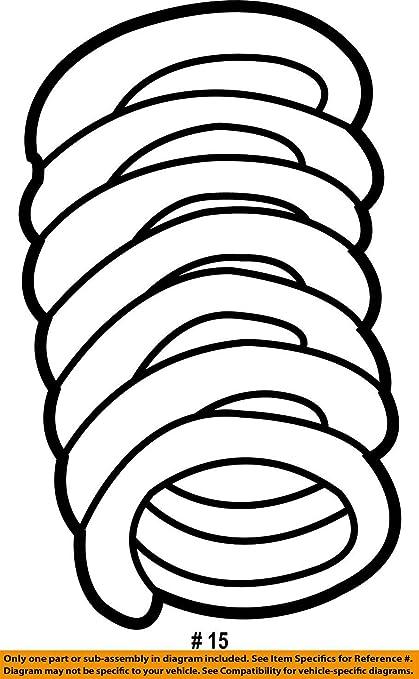 amazon mopar 5211 3938aa coil spring automotive Dodge Ram Lift Coil Springs