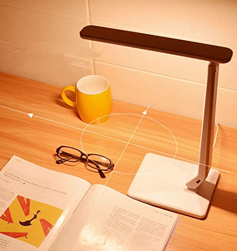 Lámpara de mesa de lectura LED con enchufe Lámpara de escritorio ...